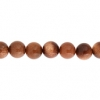 Goldstone 6mm Round 29pcs Approx